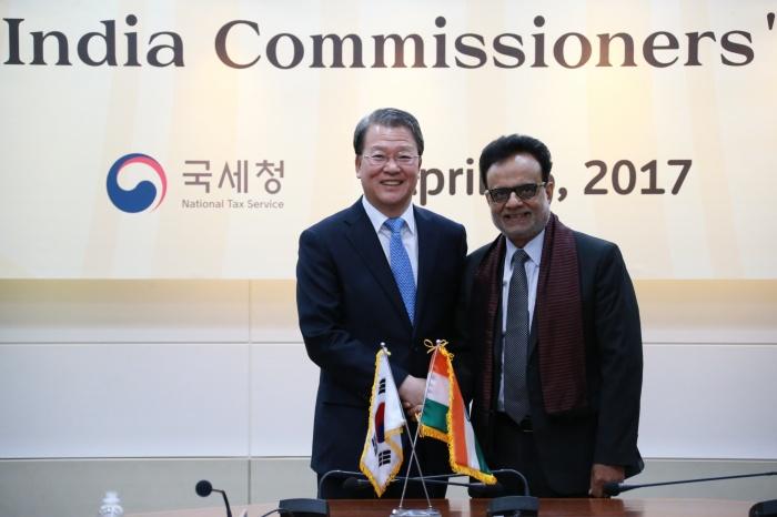 국세청, 제4차 한·인도 국세청장 회의 개최