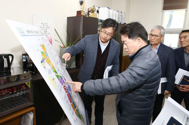 박승원 광명시장, 소하2동 우리동네 시장실 운영